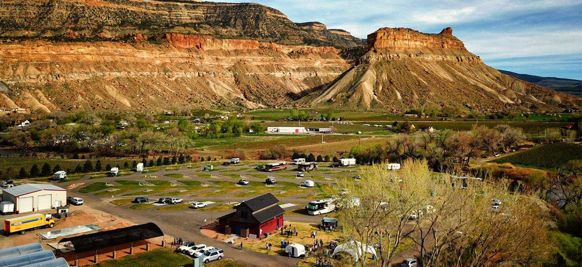 North Country Rv >> Campground Accommodation | Palisade Basecamp RV Resort